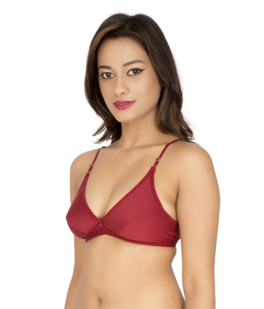 Brite Catwalk Minimizer Non Padded Multicolor Bra (Pack Of 1)
