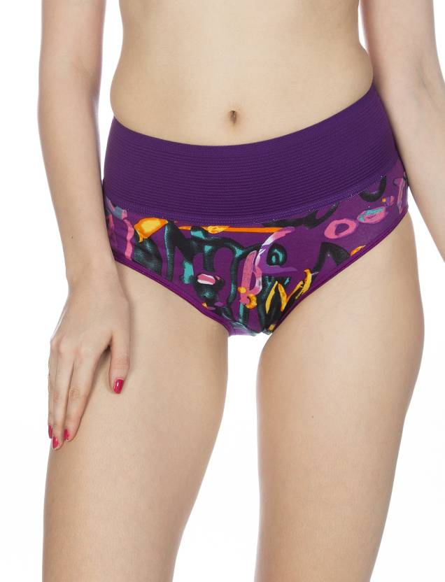 Johnson BREEZA Multicolor Printed Panti (Colors May Vary) (Pack Of 3)