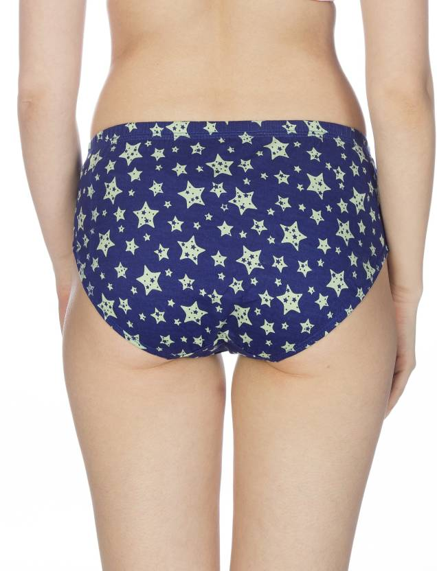 Johnson INNER Multi Color Printed Panties (Colors May Vary) (Pack Of 3)