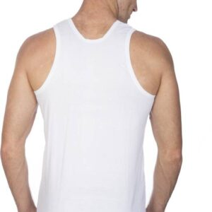 Johnson Premium Good Morning Men's White Color Sleeveless Vest (Pack Of 3)