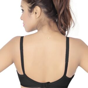Brite Asin Minimizer Non Padded Multicolor Bra (Pack Of 3)