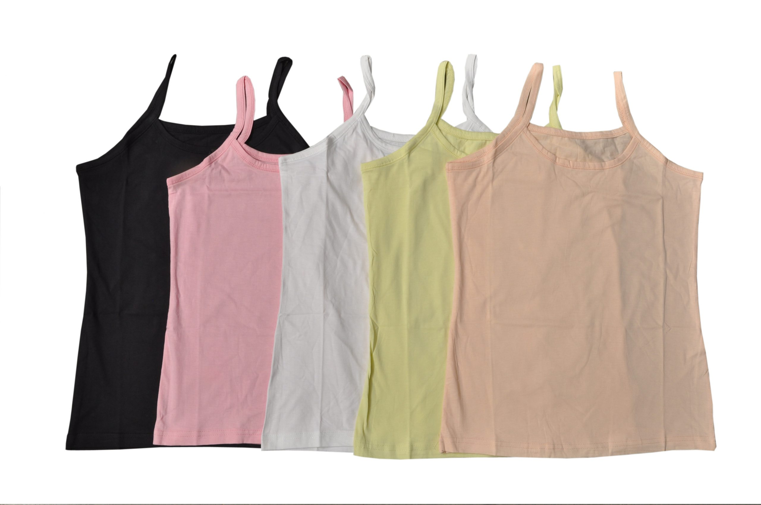 Johnson Multicolors Fashion Camisole Women's (Pack Of 5)