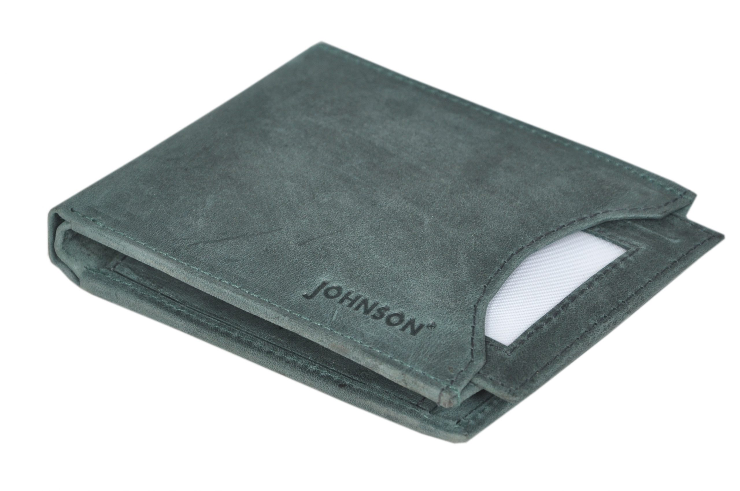 Johnson Hunter Leather Men's Wallet (Pack Of 1)
