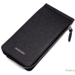 Pidengbao Black Color Women's Card Case (Pack Of 1)