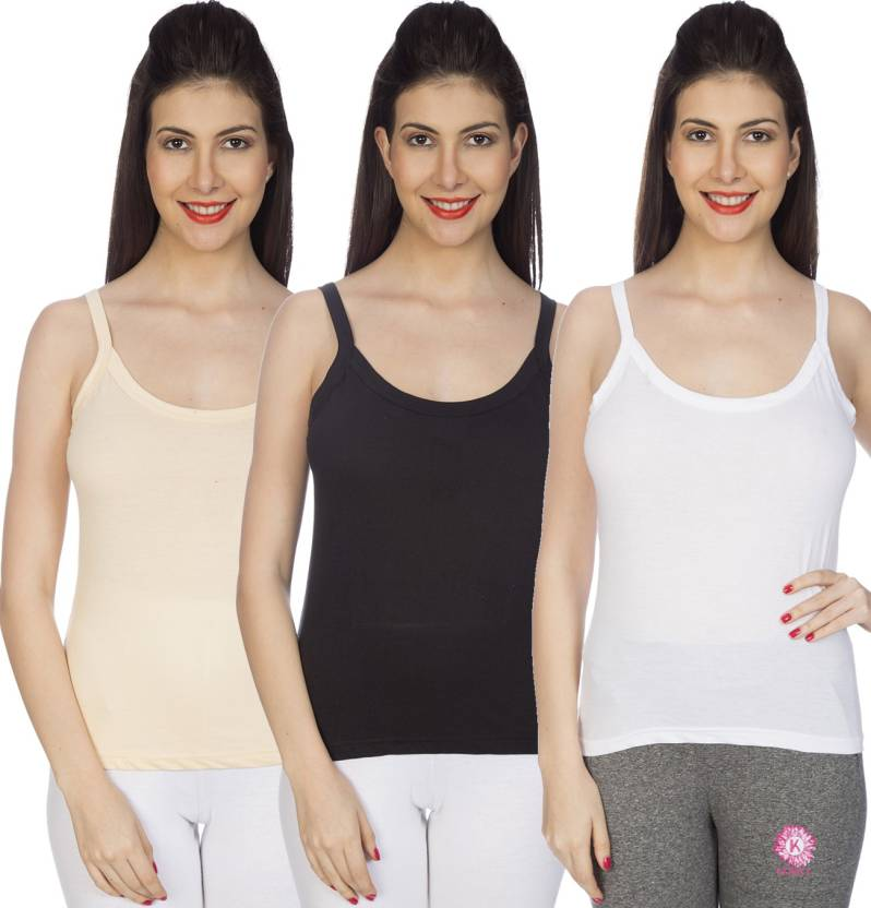 Johnson Classic Fashion Camisole Women's............ (Pack Combo) (Pack Of 3 )