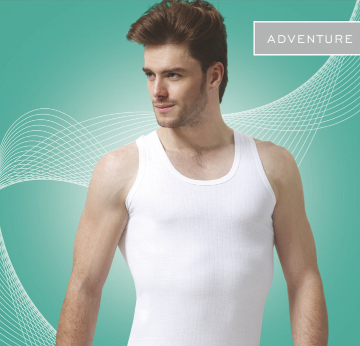 Viking Adventure Men Whitecolor Sleeveless (Pack Of 3)
