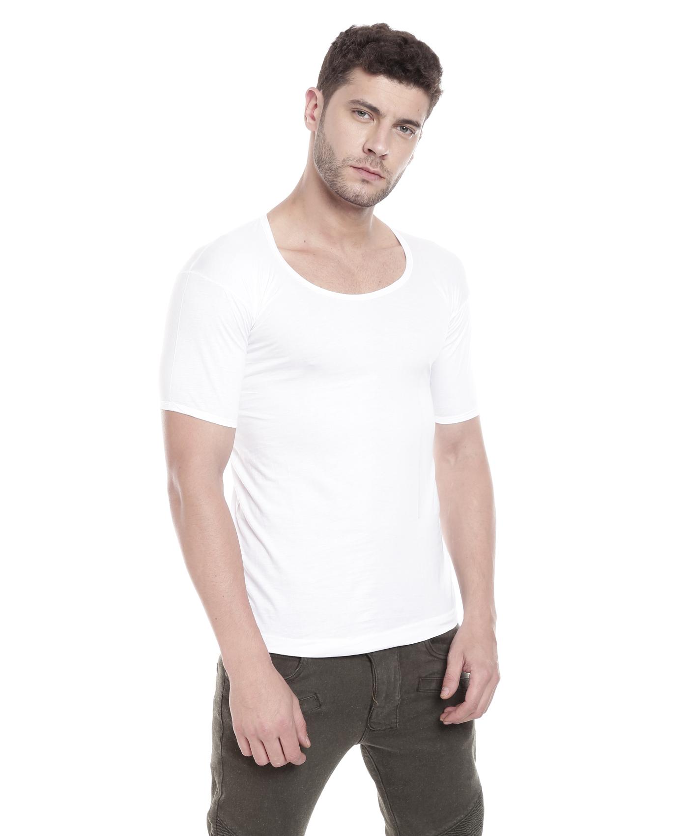 Johnson Premium Good Morning Men's White Color Half Sleeves Vest (Pack Of 3)