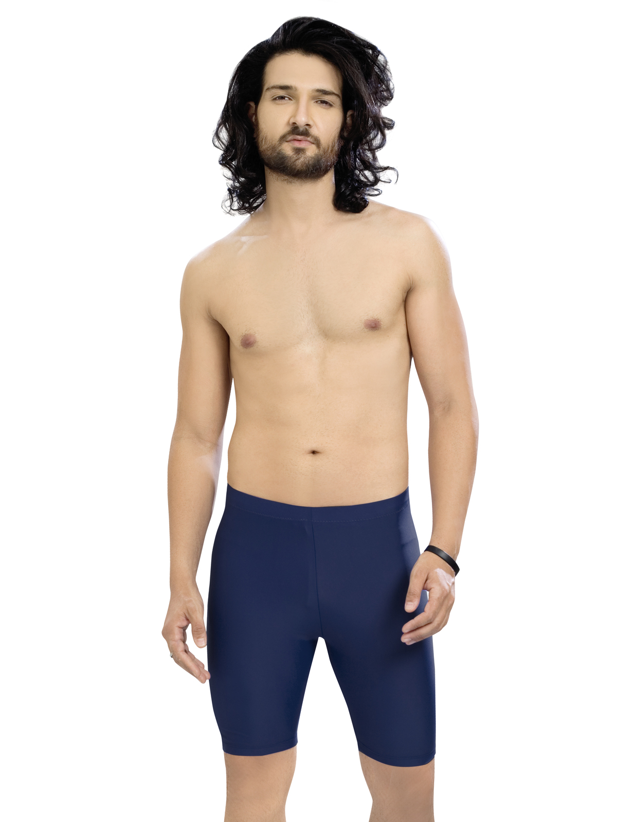 Enkay Panther Men's Solid Swimsuit (Pack Of 1)