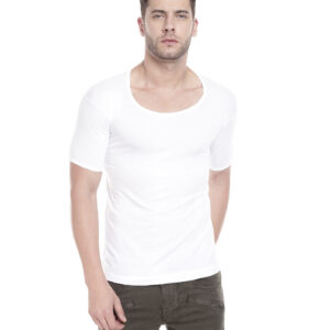 Johnson Good Morning Men's White Color Half Sleeves Vest (Pack Of 3)