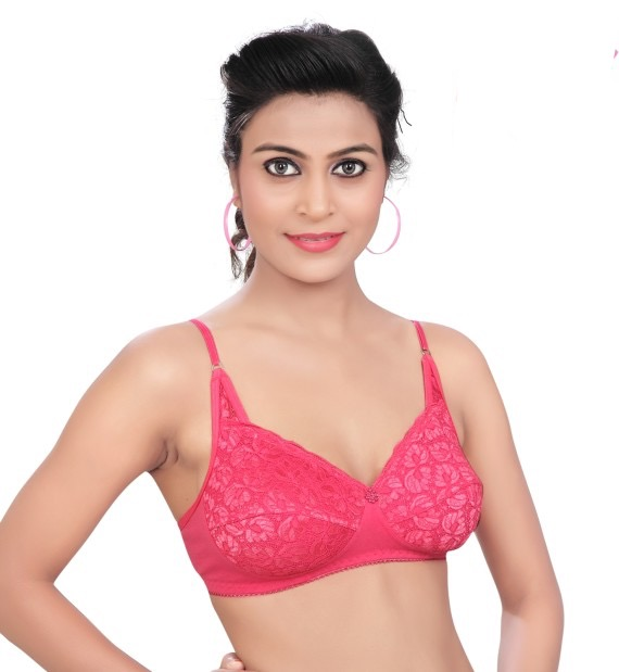 Softy TANNAZ Minimizer Non Padded Multicolor Bra (Pack Of 1)