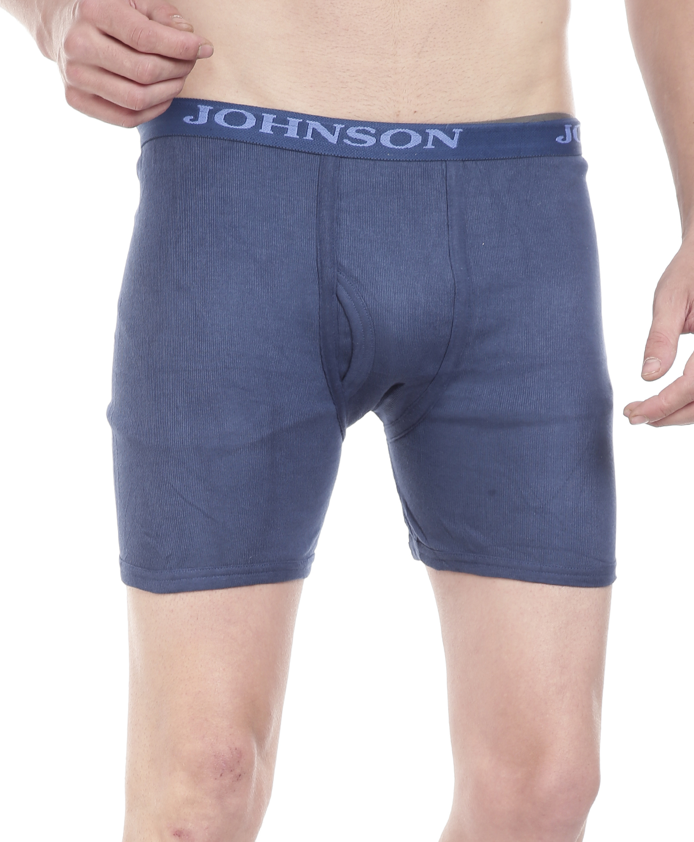 Johnson Men's Multi Color Trunks (Colors May Vary) (Pack Of 3)