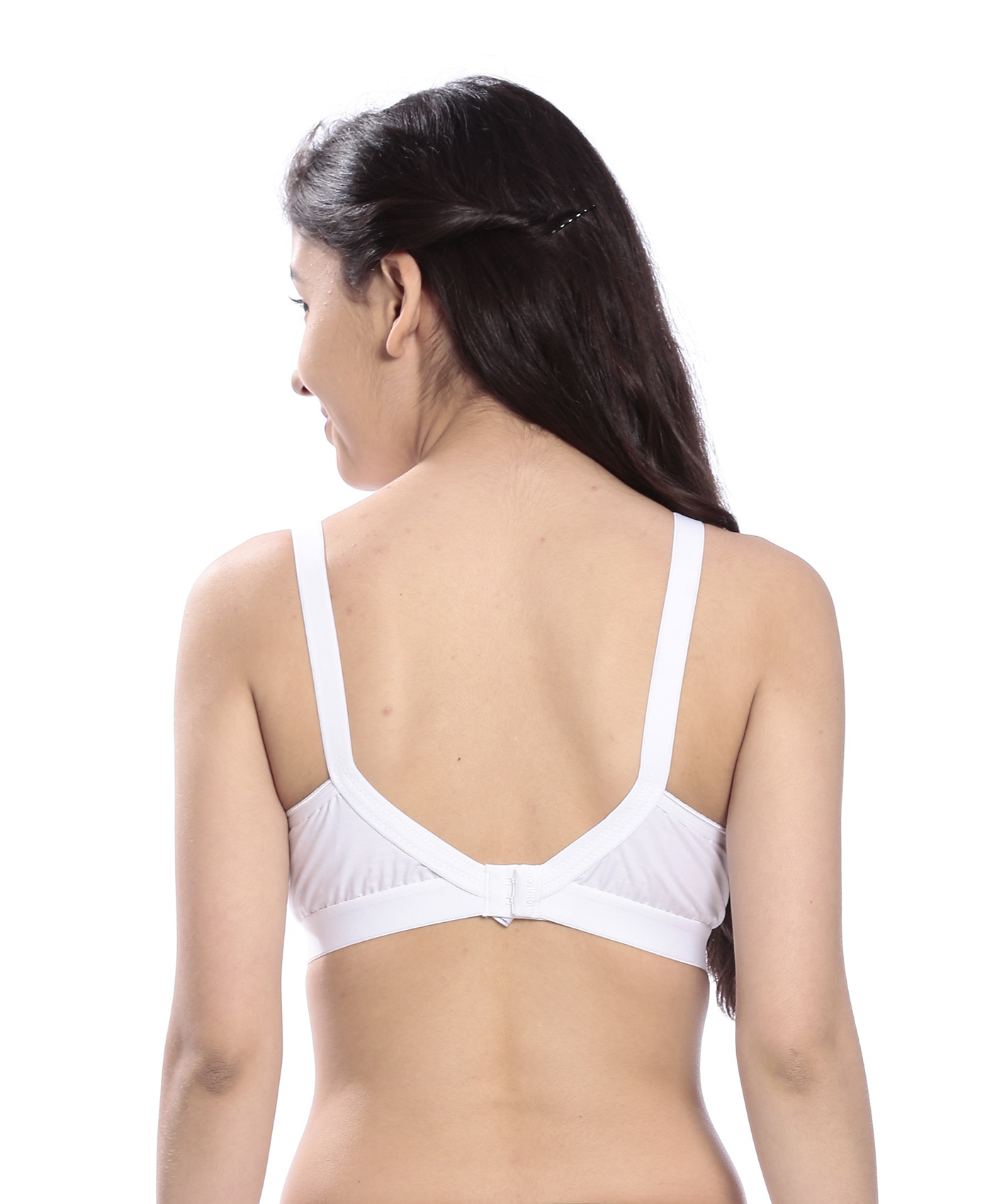 Johnson Shaan Full Coverage Non Padded Multi Color Bra... (Pack Of 3)