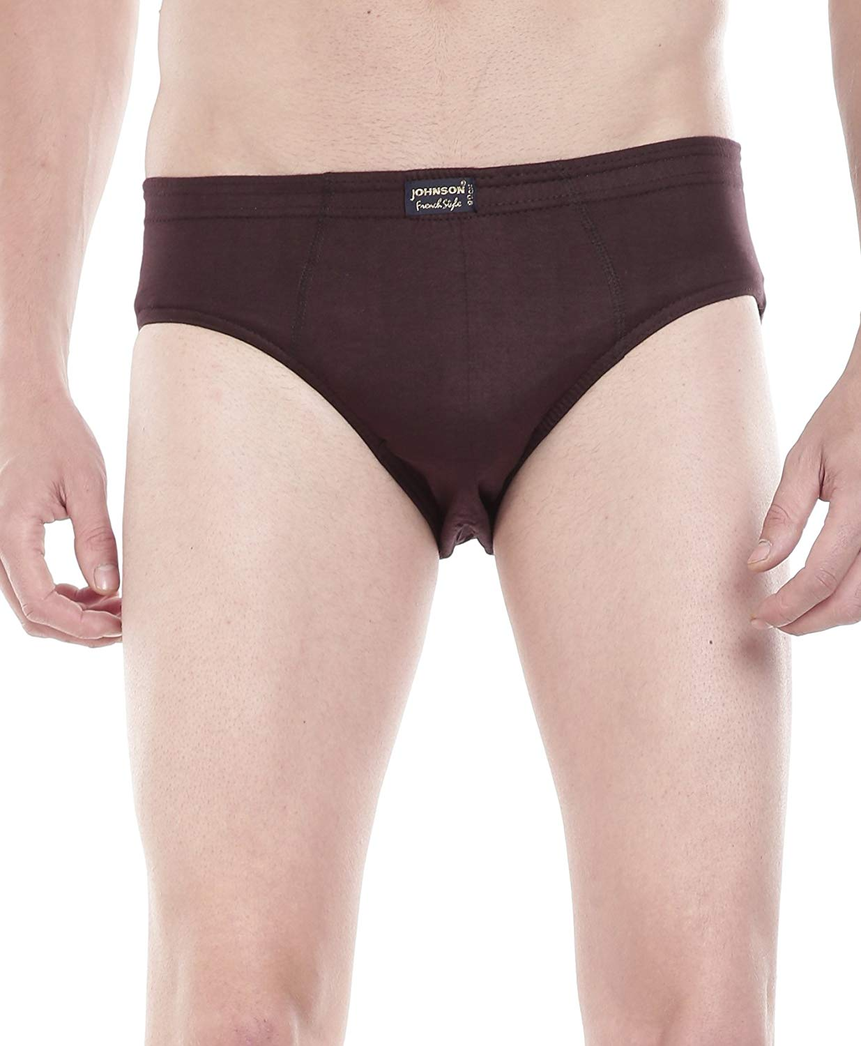 Johnson Multi Color French Men's Brief (Colors May Vary) (Pack of 3)