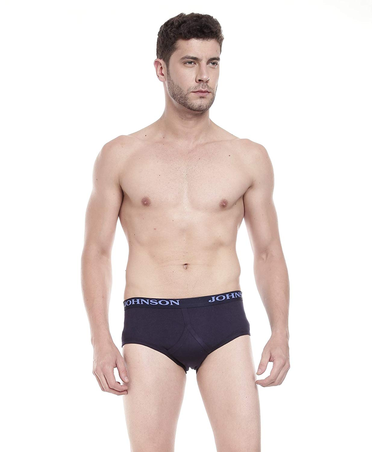 Johnson Multi Color Brief .....(Colors May Vary) (Pack Of 3)